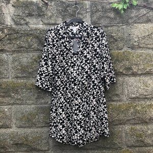 Paper Denim & Cloth Butterfly Button Up Romper XL